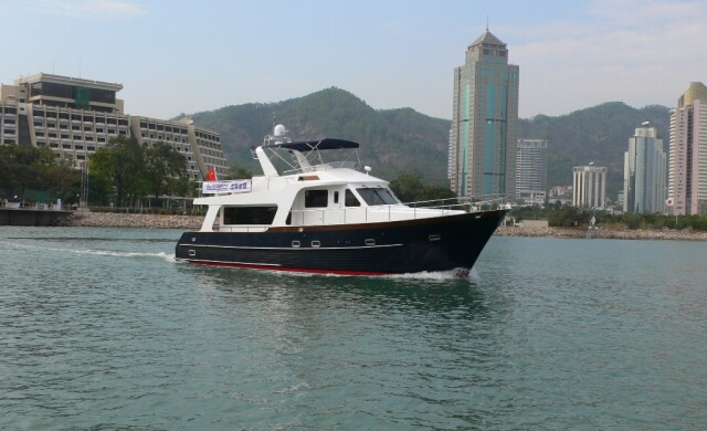 Integrity Trawlers Cruising 550rph